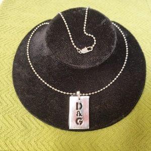 Dolce & Gabbana Dog Tags pendant & necklace